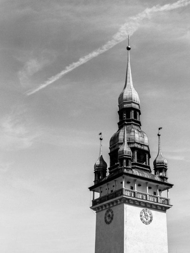 Fotografía de un ayuntamiento.