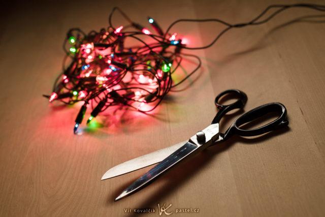 Qué debemos cuidar cuando hacemos fotos navideñas: la impaciencia.