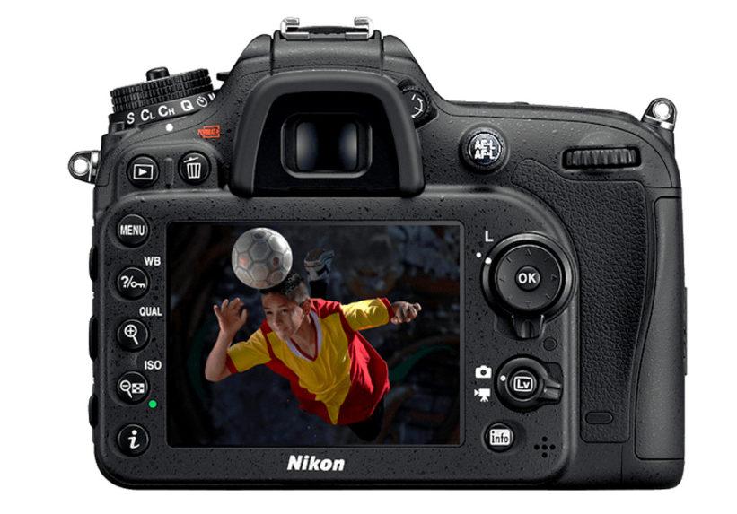 Enfoque utilizando el botón AE-L en una cámara Nikon.