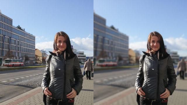 Como sacar fotos nitidas con fondo borroso