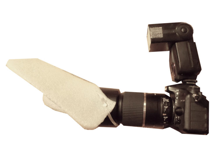Un difusor de luz casero y un flash externo: mi configuración personal preferida para difundir la luz.