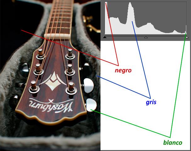 Controla el espectro de color de las fotos con ayuda de los niveles: El histograma es la base del trabajo con niveles.