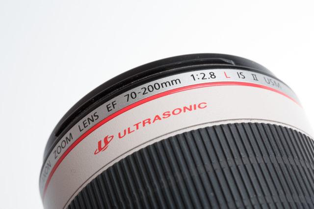 Qué significan todos esos números y letras de los objetivos: Objetivo Canon EF 70-200mm f/2.8L IS II USM.