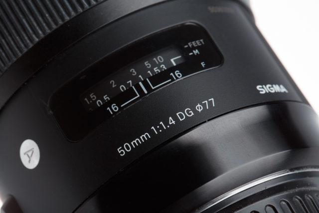 Qué significan todos esos números y letras de los objetivos: Objetivo Sigma 50mm F1.4 DG HSM Art.