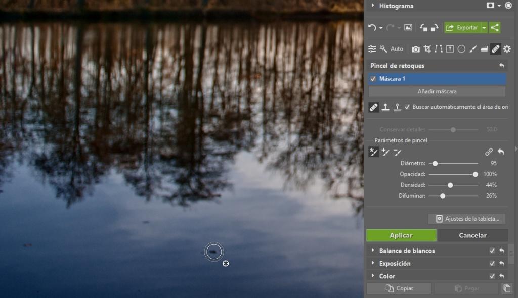 Cómo editar archivos RAW: Retoque.