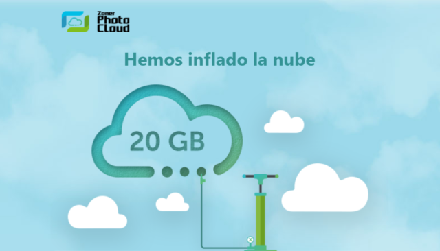 Zoner Photo Cloud aumenta su capacidad a 20 GB para todo el mundo